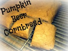 Pumpkin Beer Cornbread by Custom Taste. The 2nd day of Pumpkin Sensation Week brings a savory and fun take on pumpkin. Cornbread season just got a lot more interesting!