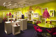 Kensiegirl footwear showroom design