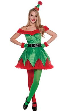 christmas elf costumes for kids adults elf outfits accessories