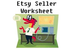 Etsy Seller Inventory Worksheet