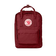 Kanken - Laptop Backpack | Fjällräven Ox Red