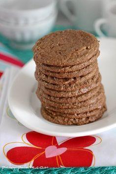 Reeses PB Cup Cookies - 2 ingredients!