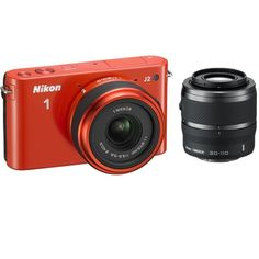 Introducing Nikon 1 J2 101 MP HD Camera w 11275mm f3556 and 30110mm VR Lenses Orange. Great product and follow us for more updates!