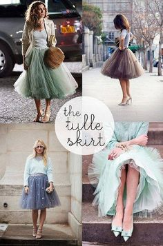 tulle skirts