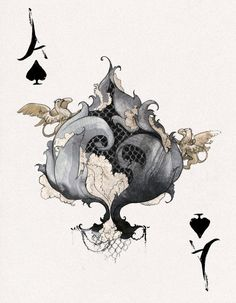 DesRay Deck Ace of Spades by *robbiedraws