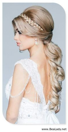 This is a beautiful hairstyle....
