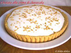 Crostata alla crema di cheesecake