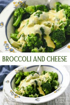 Broccoli and Cheese is a quick and easy side dish recipe that even your kids will devour! Broccoli and Velveeta Cheese | Broccoli and Cheese Sauce | Broccoli Recipes Frozen Broccoli Recipes, Broccoli And Cheese Recipe, Recipes With Velveeta Cheese, Brocolli Recipes, Homemade Cheese Sauce, Brocoli And Cheese, Homemade Velveeta, Fresh Broccoli, Salads