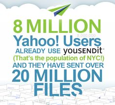 YouSendIt and Yahoo! Make it Easier to Share Content