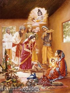 Krishna and his mother - Google-Suche