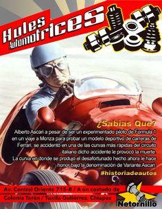 ALBERTO ASCARI PILOTO DE FÓRMULA 1 - TRÁGICO FINAL #historiadeautos https://www.facebook.com/863770903674939/photos/a.863789777006385.1073741830.863770903674939/1010853132300048/?type=3&theater&notif_t=scheduled_post_published
