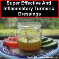 Super Effective Anti Inflammatory Turmeric Dressings
