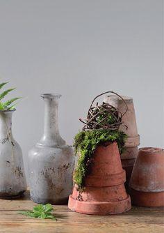 #ClippedOnIssuu from Créations DIY avec Les malheurs de Sophie Planter Pots, Stylists, Author, Vase, Artist, Diy, Home Decor, Decoration Home, Bricolage