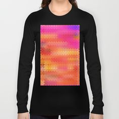 Re-Created Flag VII Long Sleeve T-shirts by Robert S. Lee - $28.00