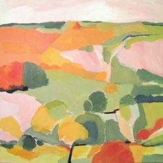 Late Summer Landscape by Harriet Bellows