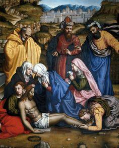 Plautilla Nelli (1524-88), Lamentation, Florence, San Marco