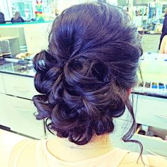 Gorgeous wedding updo by Mariah! Thanks Canavello Mrasek Henderson Ramirez Wedding Updo, Fall Wedding, Playing With Hair, Cosmetology, Rapunzel, Updos, Salons, Cool Hairstyles, Hair Makeup