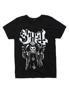 Ghost Papa Emeritus T-Shirt, BLACK