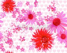Sweet Blossoms Noise by Sonja Sporrer-Hornfeck available for download as a vector file on patterndesigns.com