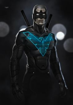 Nightwing by Yvan Quinet
