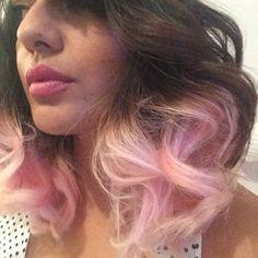 Ondas rosa pastel #PinkHair