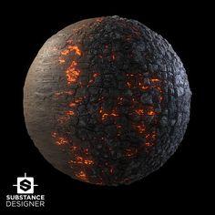 Burnt Wood, Joakim Stigsson on ArtStation at https://www.artstation.com/artwork/1V8xq