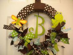Hospital door wreaths