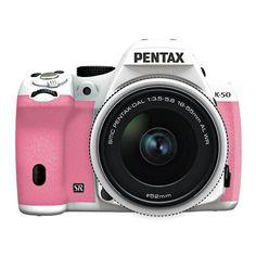 WANT! pink camera