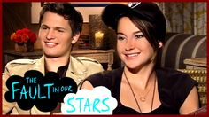 One of the best interviews I've ever seen. Shailene Woodley and Ansel Elgort both have such a way with words. They are their characters.