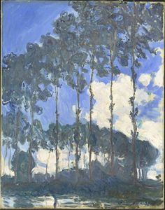 Monet Poplars on the River Epte - Claude Monet - Wikipedia, the free encyclopedia