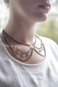 Célimène  Collier by LouiseDamas on Etsy, $66.00