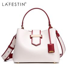 Find More Top-Handle Bags Information about LAFESTIN Women Handbag Designer  Luxury Bucket Shoulder Bag 8093dd9fd38d