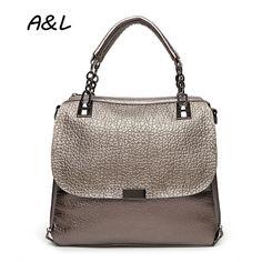 0aa19f68dce Women Handbag Luxury Leather Bag New Fashion Handbag Lady Brand Designer  Tote Female Elegant Shoulder Messenger