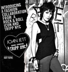 Joan Jett x TRIPP NYC exclusively at Hot Topic