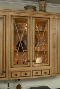 Sunny Wood now offers 30, 36, and 42 inch tall wall cabinets as standard in-stock items. www.sunnywood.biz