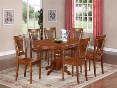 Oval Kitchen Tables - http://secretsoftiffin.com/oval-kitchen-tables/ : #KitchenDesign #OvalKitchenTables