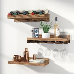 Find Wine Racks & Wine Storage at Wayfair. Enjoy Free Shipping & browse our great selection of Bar & Wine, Wine Refrigerators, Kegerators and more!