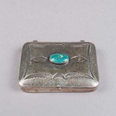 silver, turqouise