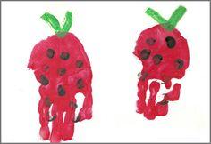 Handprint Calendar: Strawberry