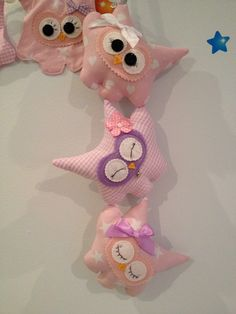 Tumbling Hootlets ❤ very pink and cute ❤