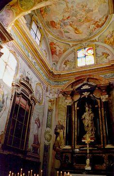Alter of Santa Maria Assunta in Orta San Giulio, Italy