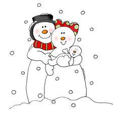 SnowmanFamily-color.png 2,528×2,396 pixels