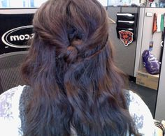 (MY) thursday knotted hair. all these blog posts have been inspiring!