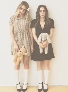 Be a dead doll for Halloween