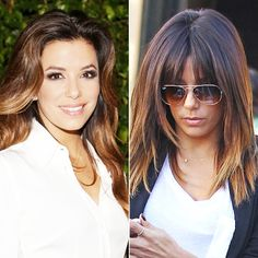 Eva Longoria - New Hair 2014: See Celebrity Hair Makeovers! - Hair - InStyle.com