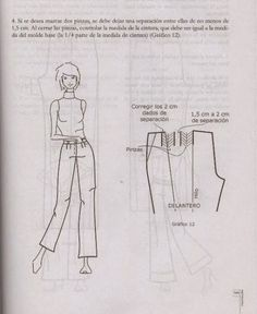 modelist kitapları: Miguel Angel Cejas - confección y diseño de ropa Miguel Angel, Mccalls Patterns, Sewing Patterns, Modelista, Knitting, Womens Fashion, How To Make, Pattern Trousers, Shirts