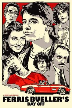 Ferris Bueller's Day Off - Mini Print
