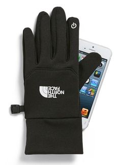 The North Face e-tip gloves  http://rstyle.me/n/thdhspdpe