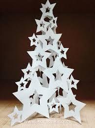Risultati immagini per елка из бумаги трафарет