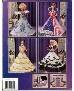 Fashion Doll Pageant Plastic Canvas Pattern por grammysyarngarden